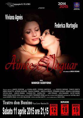 teatro bussoleno Aimée & Jaguar